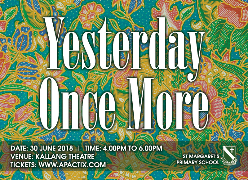 Yesterday Once More - 2018 SMPS school concert